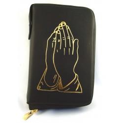 7245 - Custodia per liturgia 4 volumi in cuoio