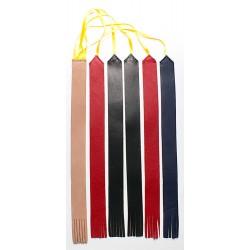 Segnalibro per Lezionario o Messale con 5 nistole in pelle + 1 in cuoio rigido per l' inserimento nel dorso - SG05
