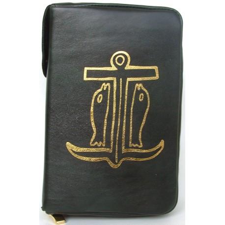 """Custodia per Bibbia """"ANCORA DELLA SALVEZZA"""""""