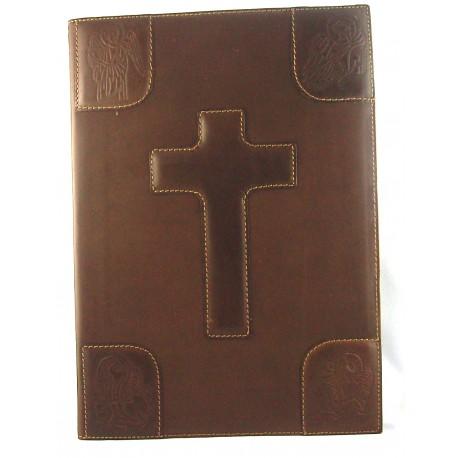 Copri Lezionario 4 Evangelisti in pelle - 7980
