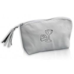 0075C - Astuccio portaoggetti in vera pelle