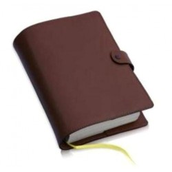 8215 - custodia per Bibbia CEI Uelci chiusura bottone