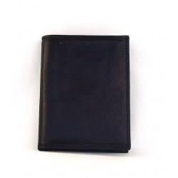 Porta passaporto - Portadocumenti in pelle bovina tamponata a mano - 658940/3T