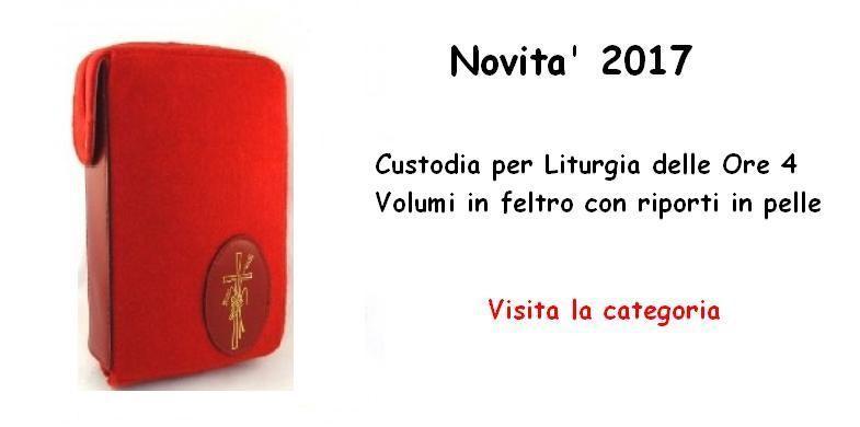Custodia Liturgia delle Ore 4 Vol.